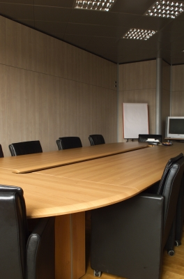 Une salle de conference