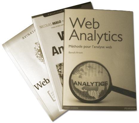 Livres sur le Web Analytics en français